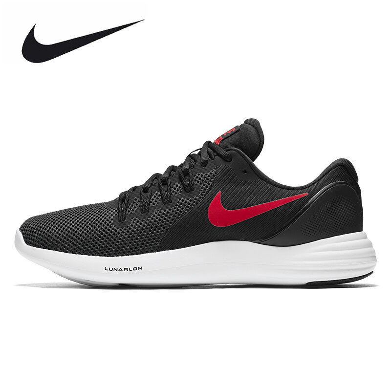 Original New Arrival NIKE LUNAR APPARENT Mens Breathable Running Shoes Sports Sneakers Trainers