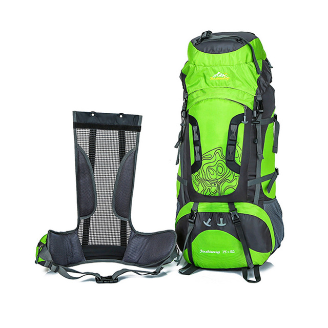 15734763d3 100% 80L Large Capacity Outdoor backpack Camping Travel Bag Professional Hiking  Backpack Rucksacks sports bag Climbing package