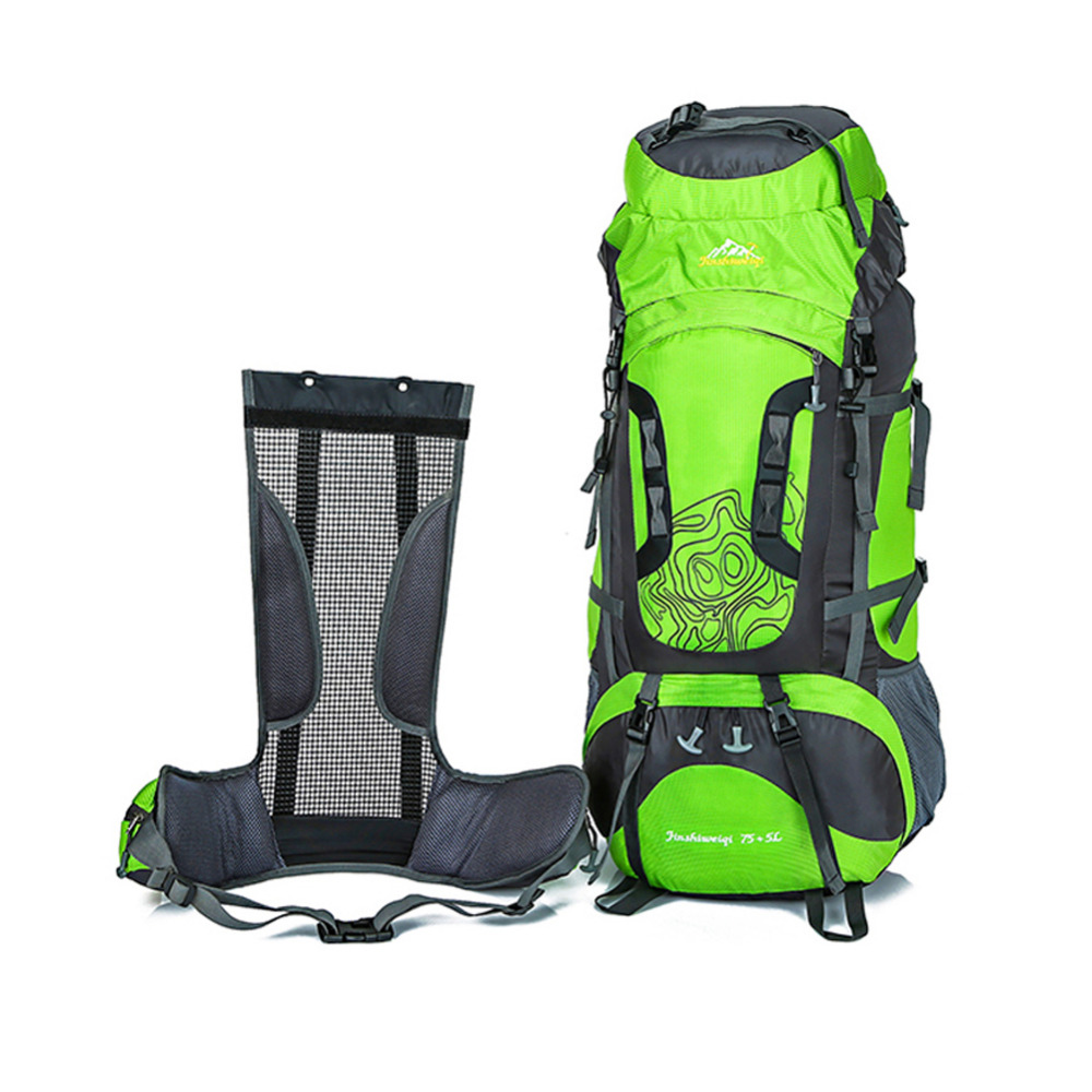 3360c58ee66e 80L Large Capacity Outdoor backpack Camping Travel Bag Professional Hiking  Backpack Rucksacks sports bag Climbing package
