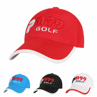 Golf Hut Caps Professionelle baumwolle golf ball Hut Männer Frauen Baseball-mütze Sommer Schutz w Golfball Marker