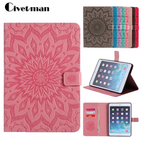 For Funda IPad Mini 3 Case Heronsbill Embossed PU Leather Wallet Stand Case With Auto Wake