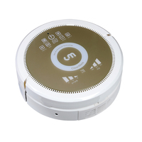 2019 robotic vacuum cleaner air purifier EUROPE BRAND Cleanmate dry/wet mopping patent ultrasonic wave li battery