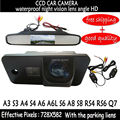 CCD HD Wireless Car RearView Backup Color Camera with mirror rear view monitor for  AUDI A3 S3 A4 S4 A6 A6L S6 A8 S8 RS4 RS6 Q7