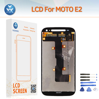 For Motorola Moto E2 E 2 LCD Screen Replacement LCD Display Touch Digitizer Assembly Screen Black
