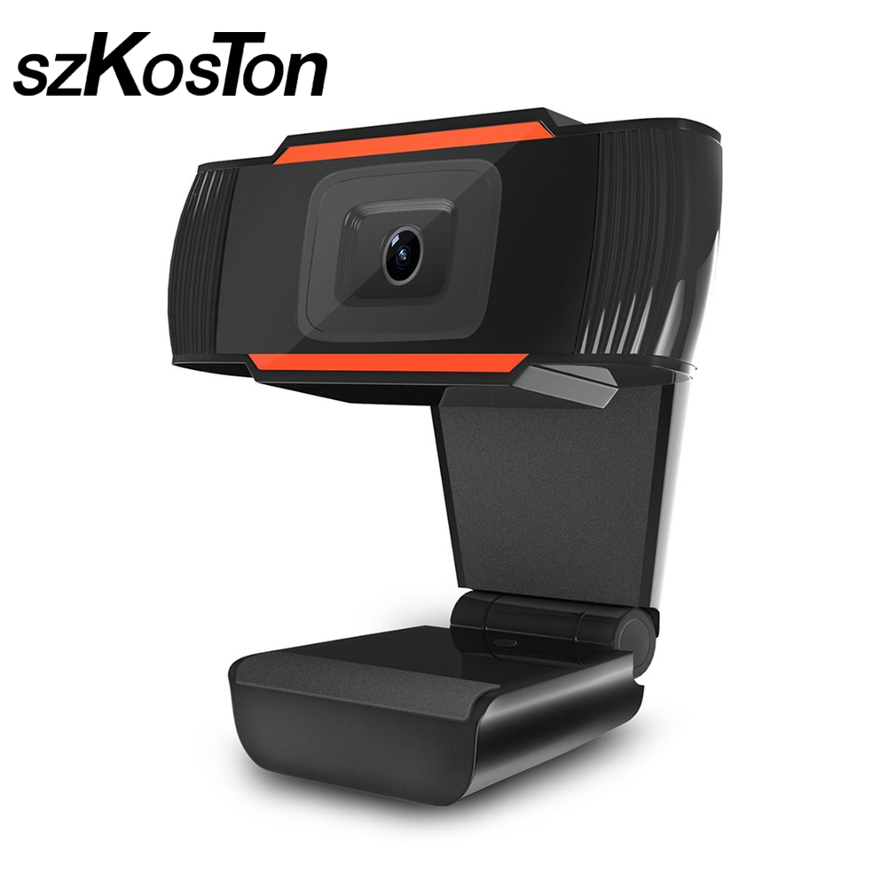 12MP USB Webcam With Built-in Sound Absorption Microphone For Computer Laptop PC