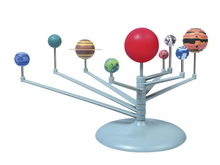 DIY 3D Simulation Solar system Nine planets Scale Model Science Learning Eductional Toys The Nine Planets Teaching model
