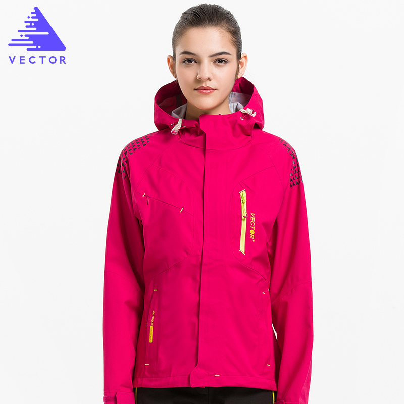 Outdoor Jacket Women Windproof Waterproof Jacket Female Camping Hiking Jackets Rain Windstopper Windbreaker 60021