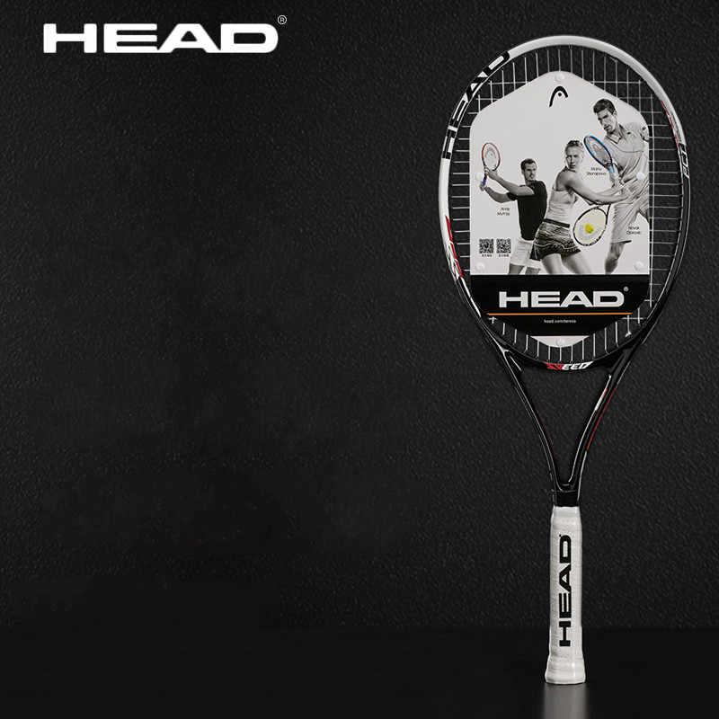 Original head tennis racket  Tenis Masculino Tenis Raketi for women and mens carbon composite  Raquete De Tenis with strung