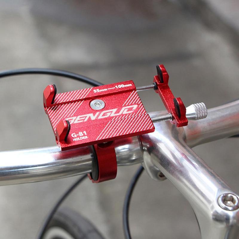 Mountain Bike Holder Riding Aluminum Alloy Mobile Phone Stand Mountain Bike Universal Navigation Bracket