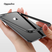 Oppselve For iPhone XS Max Case Bumper Luxury Aluminum Metal Frame Capinhas For iPhone XS X XR 8 7 6 S 6S Plus Coque Accessories baseus frapiph6 rt0g aviation aluminum protective bumper frame case for 4 7 iphone 6 grey