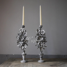Wedding Ceremony Ivory Pillar Candles Luxury Tealight Tea Lights Candle Decoration Velas De Navidad Christmas 50KO312