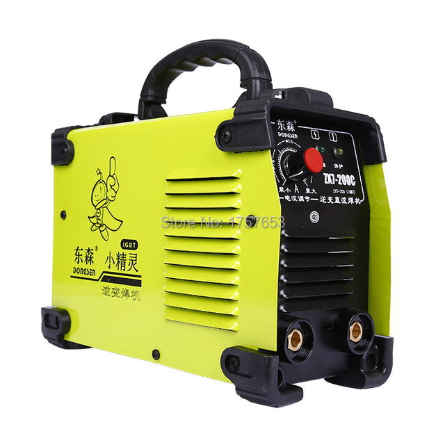FREE SHIPPING Popular in China IGBT DC Inverter welding equipment MMA welding machine ZX7-200C with complete accessories