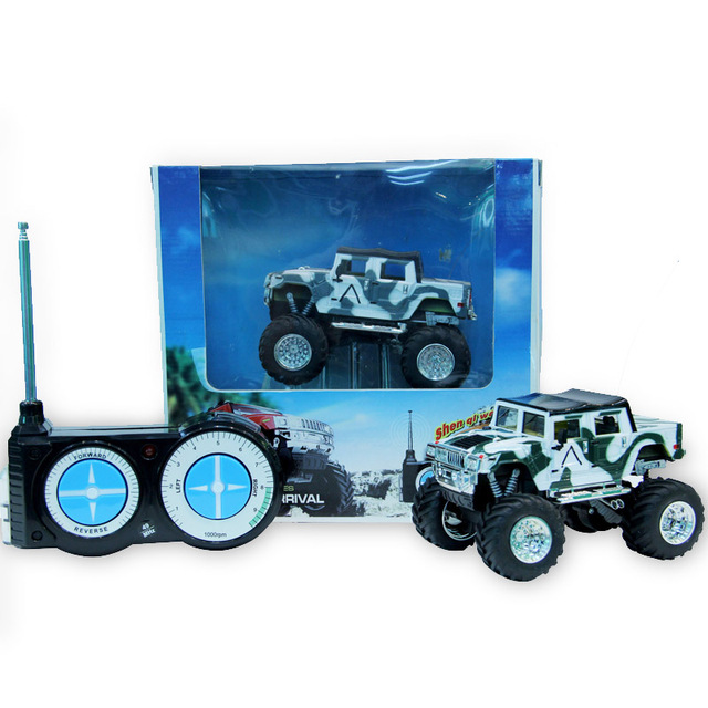 Electric Rc Cars Hummer Off Road Vehicles Damping Remote Control Car