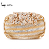 d775e8809 2015 New Diamond Evening Bags Peacock Clutches High Grade Beaded Crystal  Clutch Rings Wedding Party Purse