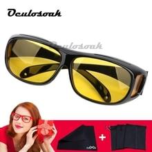 Night Vision Driver Goggles Unisex HD Vision Sun Glasses Car Driving Glasses UV Protection Polarized Sunglasses Eyewear G122 цена и фото
