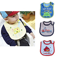 1pc Cotton Baby Bibs Baberos Waterproof Bandana Bib Cartoon Pattern Infant Bib Baby Clothing New 2015 -- BYA003 PT15 Wholesale