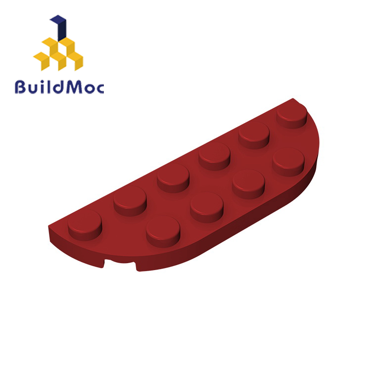 BuildMOC Compatible Assembles Particles 18980 2x6 For Building Blocks DIY LOGO Educational High-Tech Spare Toys