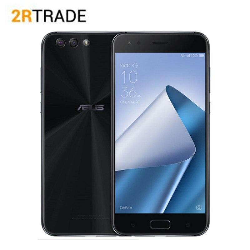 Version mondiale téléphone ASUS Zenfone 4 ZE554KL 4G 64G Smartphone 5.5 ''Octa Core Snapdragon 630 NFC Android téléphone mobile OTA mise à jour