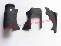 NEW Original A Set Of Body Rubber 3 pcs Front cover and Back cover Rubber For Canon FOR EOS 6D repair spare parts