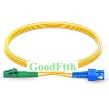 Fibra Ottica Patch Cord Cavo di Ponticello SC LC/APC LC/APC SC/UPC SM Duplex GoodFtth 100 500m