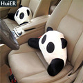 New Panda Car-styling Lumbar Cushion for Car Waist Pillow Lumbar Support for Office Chair Massage Waist Seat Cushion Car-covers
