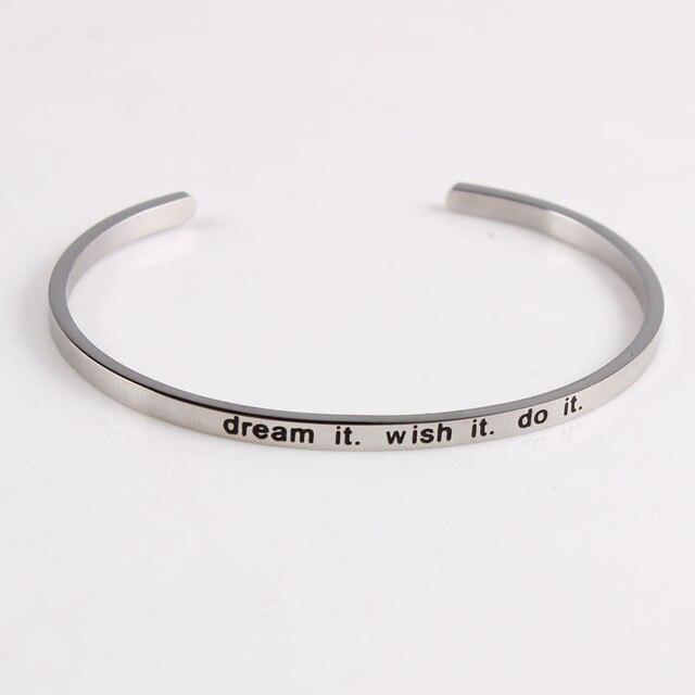 Quotes Mantra Bracelets...