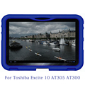 "Excite 10 Tablet Cover ,MingShore Shockproof Silicone Protector Tablet Cover Case For Toshiba Excite 10 10.1"" AT305 AT300 Tablet"