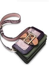 2019  Brand NEW Genuine Leather woman bag hot ZOOLER Fashion patchwork shoulder Messenger Bags luxury  S-2956 sales zooler 2017 new designed woman bag 100