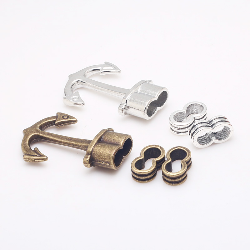 Earnest Metal Zinc Alloy Nautical Anchor Charms For Diy Jewelry Bracelets Making Handmade Craft Charms 8set/lot B5032 Good For Energy And The Spleen Jewelry Sets & More Charms