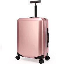 20 25 28 inch PP luggage bags drawbars universal casters rolling carry on suitcase trolley bag travel case Wire drawing Fanggua