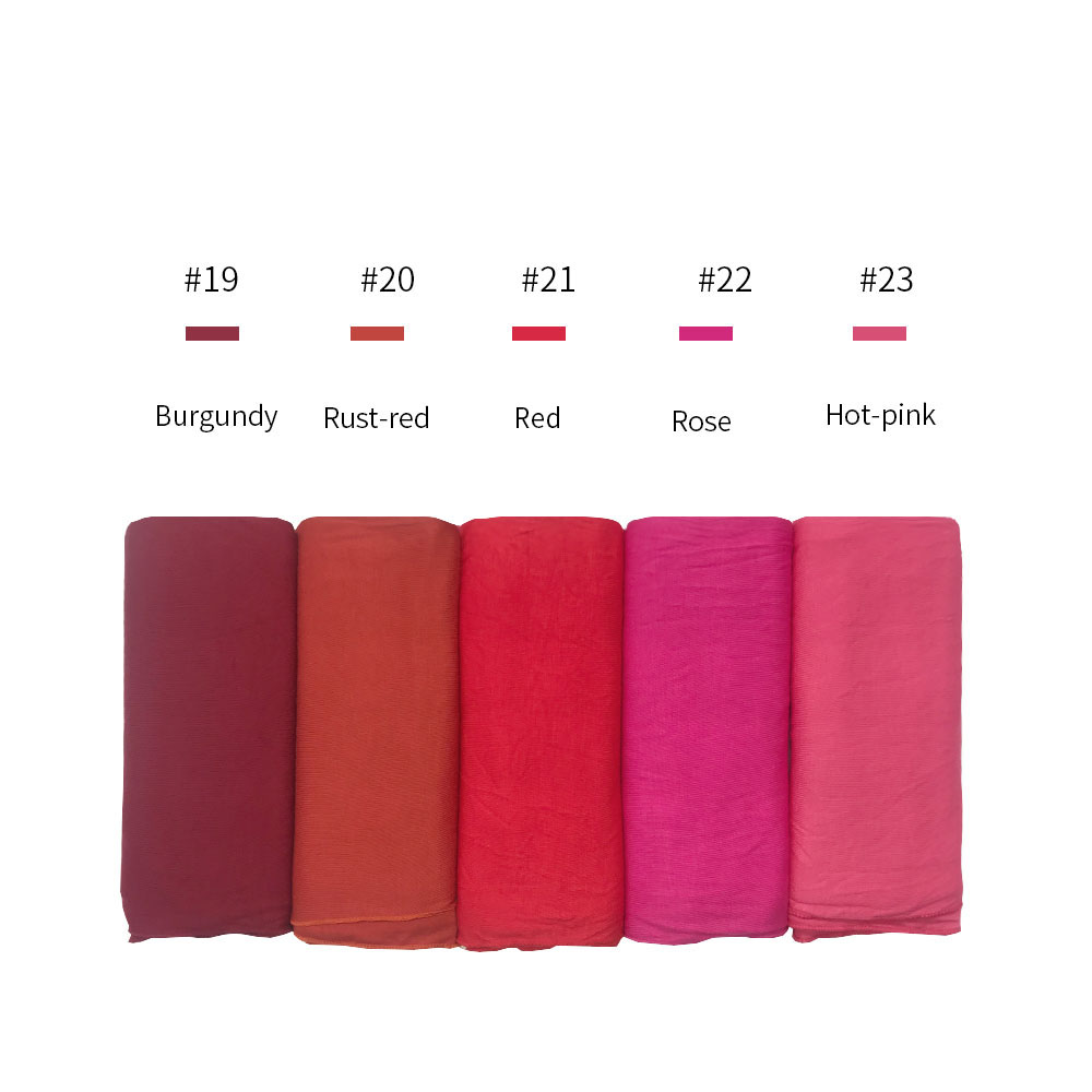 Image 5 - high quality Jersey cotton Hijab scarf stretchy women muslim 