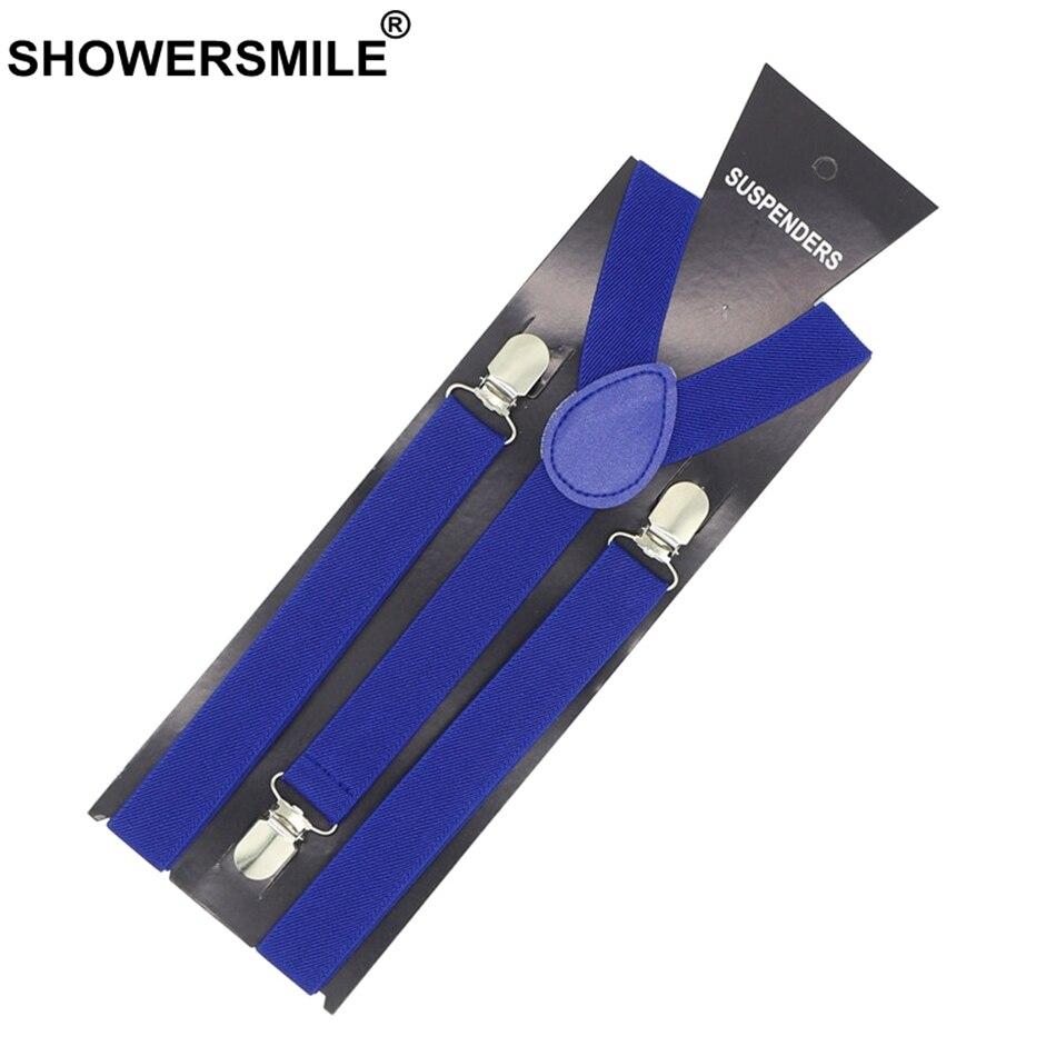 Trendmarkierung Showersmile Blau Hosenträger Für Erwachsene Weibliche Hosenträger Frauen Hosen Gürtel Mode Hochzeit Business 3 Clips Hosenträger 100 Cm Damen-accessoires