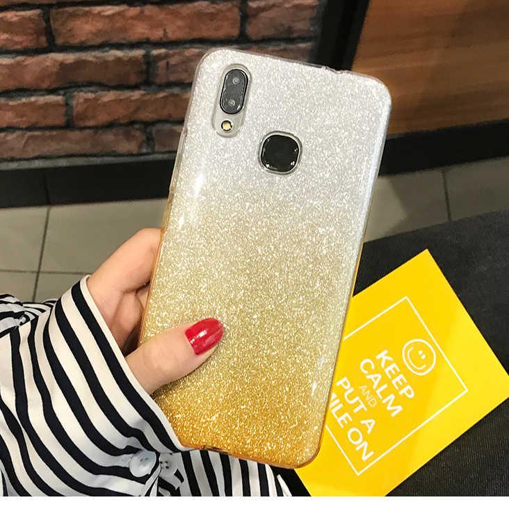 Funda brillante para Huawei Honor 10 10i 20 Pro 9 Lite 8 8A 8X 8C 8S Honor 7A 7C 7X7 S V10 V20 Bling silicona suave