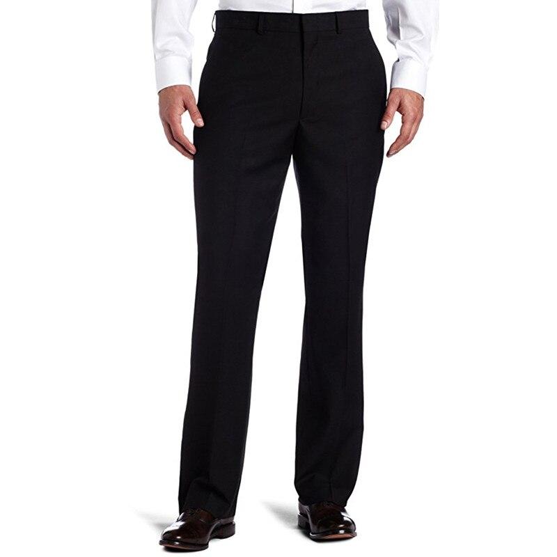 Mutter & Kinder PüNktlich Nach Maß Qualität Männer Schwarz-solide Anzug Separaten Hose Hochzeit Anzug Hosen Männer Anzughose P507