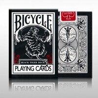 EPCS Poker Black Tiger Single License Plate Black Tiger Bicycle Collection Of Black Card