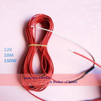 New Infrared Heating Floor Heating Cable System Of 2 3mm PTFE Carbon Fiber Wire Electric Floor