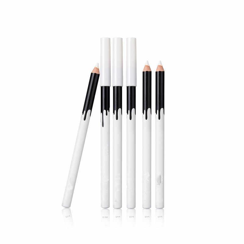 2018 nowy Eye Liner kolor tanie makijaż wysokiej jakości Menow marka długotrwały Pigment wodoodporny biały Eyeliner ołówek wiele