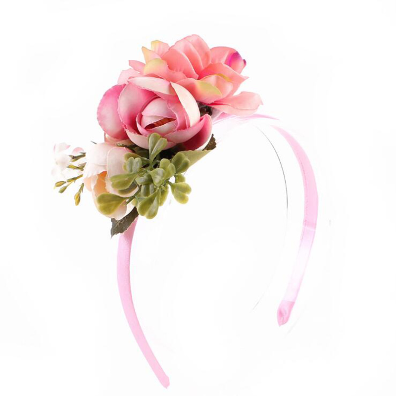 1 PC Children Headbands Baby   Headwear   Flowers Hairband Girls Headband Hair Bands Princess Hair Accessories