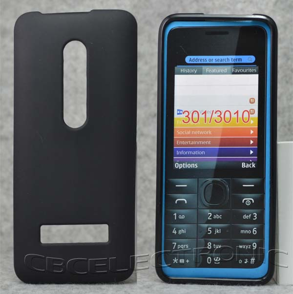 info for c5374 085c0 US $1.98  Black Color Anti Skidding Gel TPU Slim Soft Case Back Cover For  Nokia 301 3010 Mobile Phone Rubber silicone Cases-in Fitted Cases from ...