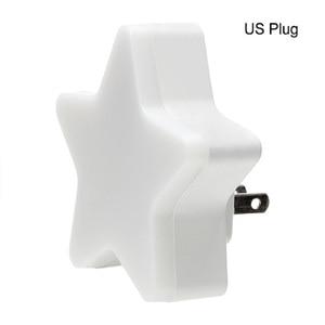Image 5 - LED gece lambası sensörü kontrol enerji tasarrufu mini lamba oturma odası yatak odası aydınlatması abd/ab tak ночник çocuk gece lambası ışık