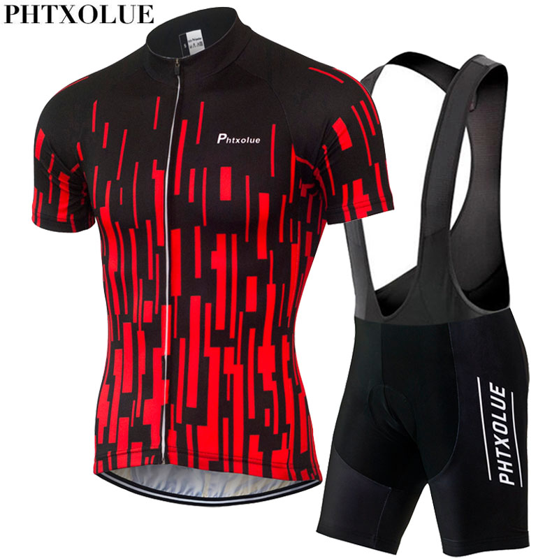 PHTXOLUE 2019 Cycling Clothing Bicycle Wear/Breathable Bike Clothing Cycling Sets /Short Sleeve Cycling Jerseys sets