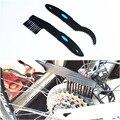 Очистка велосипедной цепи щетка маховик инструменты для чистки щетка Зубная пластина Чистящая Щетка цепное колесо