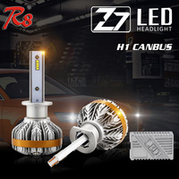 R8 2017 New Arrival Car Canbus LED Headlight Kit Z7 High Power 50W 6000LM H1 H3