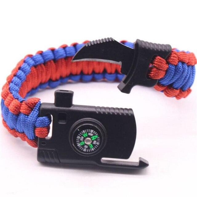плетеные браслеты ручной работы многофункциональный открытый фотография