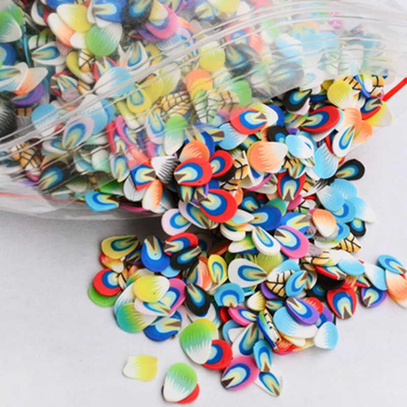 Cerámica blanda 1000 Uds. Relleno de Rodajas de frutas para uñas puntas de arte fruta Slime para niños Lizun DIY accesorios para slime suministros de decoración