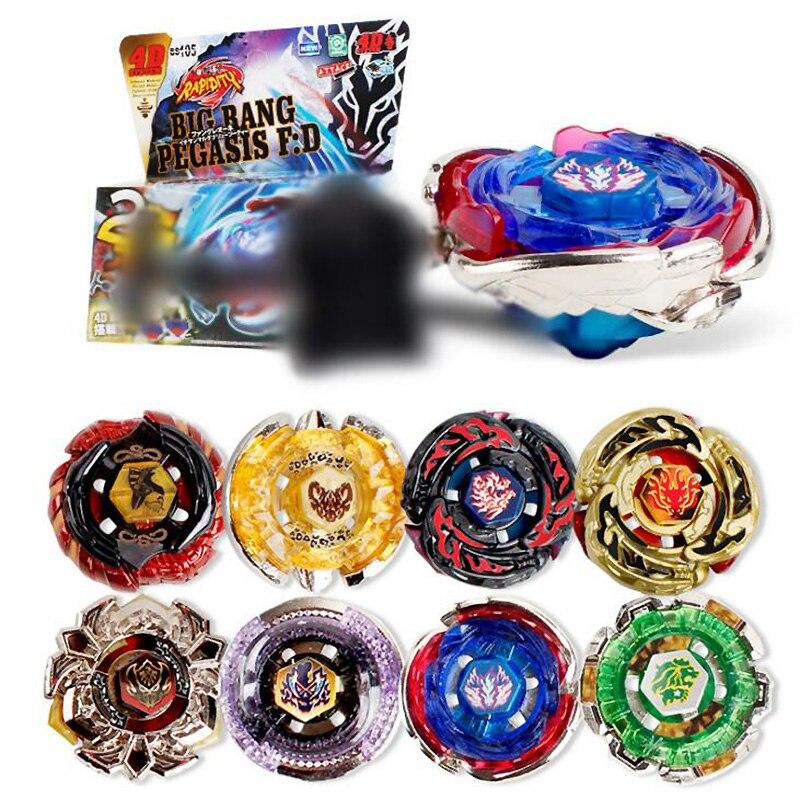 все цены на B106 B108 Beyblade Metal Fusion Toupie Beyblade burst 4D Masters Launcher Beyblade Toys For Children Boy Christmas Toy bayblade онлайн