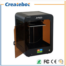 2017 Black FDM 3D Printer Single-Extruder Support ABS/PLA 3D Filament Createbot MID 3D Printer With Touchscreen and heatbed