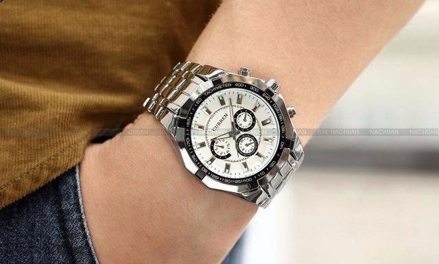 2018 New CURREN Watches Men Top Luxury Brand Hot Design Military Sports Wrist watches Men Digital Quartz Men Full Steel Watch