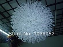 лучшая цена Free Shipping Big Round Shape White Flush Mount Ceiling Light
