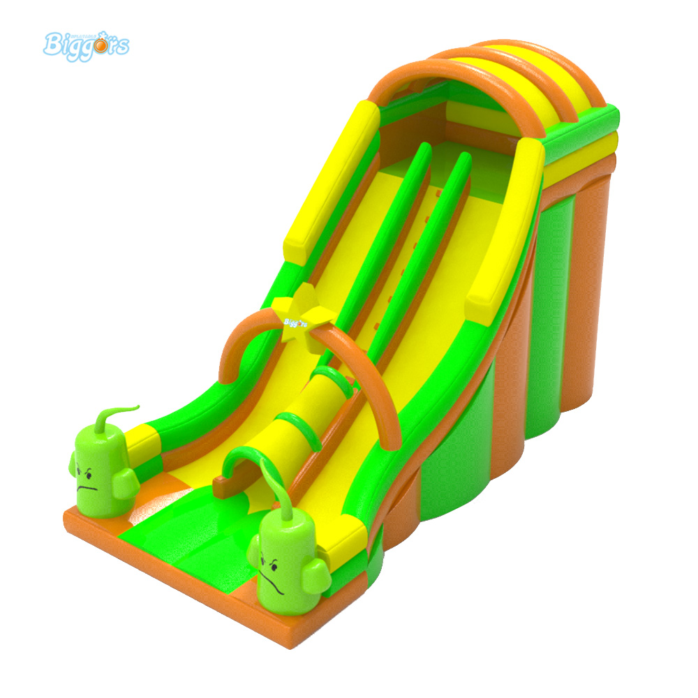 Inflatable BIGGORS Free Shipping By Sea New Design Inflatable Kids Toys Dual Lane Water Slide free sea shipping commercial small inflatable water slide with pool for sale